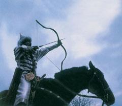 A lovas íjászat őseink mindennapi tevékenységei közé tartozott