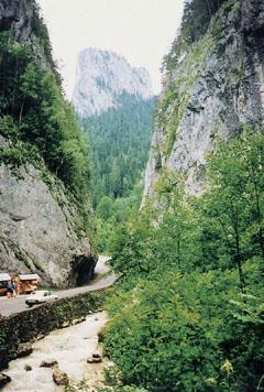 A Békás-szoros átjáró Erdély és Moldva között