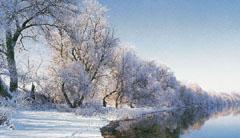 A Duna-part télen