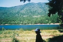 A Szent Anna-tó a Keleti Kárpátokban