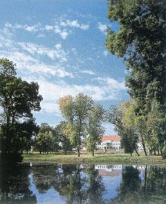 Kastélypark Berkeszen (Szabolcs-Szatmár-Bereg megye.)