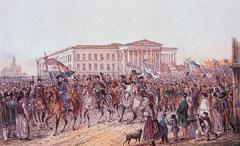Forradalom Pesten