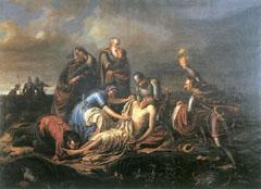II. Lajos holtteste