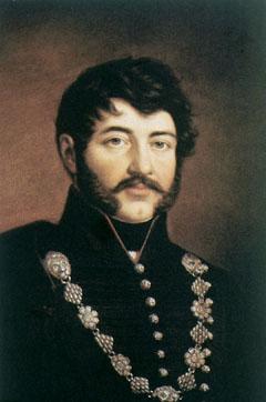 Berzsenyi Dániel költő (1776-1836) a korabeli magyar férfitípust jeleníti meg