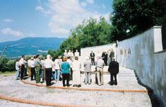 A sztálini önkényuralom kárpátaljai magyar áldozatainak emlékműve Szolyván