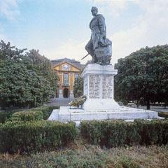 I. világháborús emlékmű Komáromban