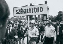 Tüntetés 1988-ben a romániai falurombolás ellen